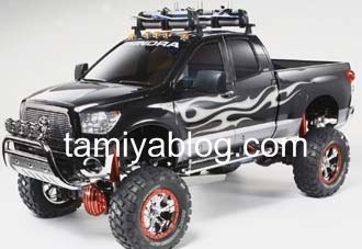Future 3 speed tamiya 58415 110 rc toyota tundra highlift tamiyablog the durable ladder frame chassis features steel channels and resin cross members for high strength accurately replicating the tundras suspension system freerunsca Image collections