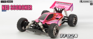 Tamiya 84387 Neo Scorcher Buggy Bright Pink Metallic