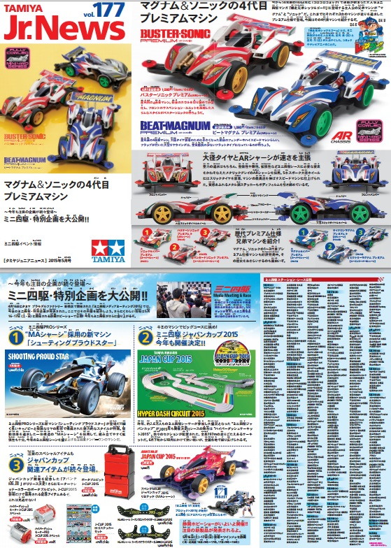 Tamiya Jr. News vol. 177