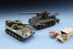 Tamiya Mokei Long Tom T-235 11