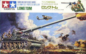 Tamiya Mokei Long Tom T-235 3