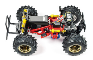 Tamiya 58618 Monster Beetle chassis