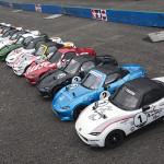 Tamiya Mazda Roadster endurance race
