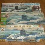 1966 Vintage Mokei Tamiya American Missile Submarine Thomas A. Edison SSDN610 (5)