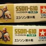 1966 Vintage Mokei Tamiya American Missile Submarine Thomas A. Edison SSDN610 (6)