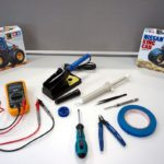 Control a Tamiya Mini 4WD from a smartphone with a Cerevo retrofit kit