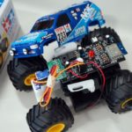 Control a Tamiya Mini 4WD from a smartphone with a Cerevo retrofit kit (2)