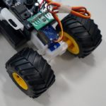 Control a Tamiya Mini 4WD from a smartphone with a Cerevo retrofit kit (8)