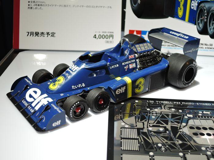 Tamiya 20058 Tyrrell P34 six wheeler 1976 Japan GP Kit 1//20