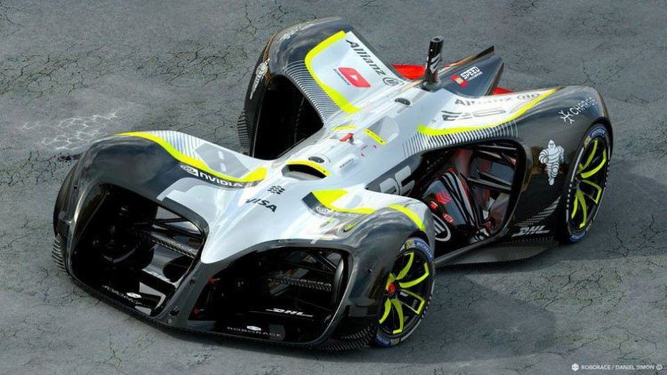 Roborace A Kind Of Full Sized Tamiya Mini Race Tamiyablog