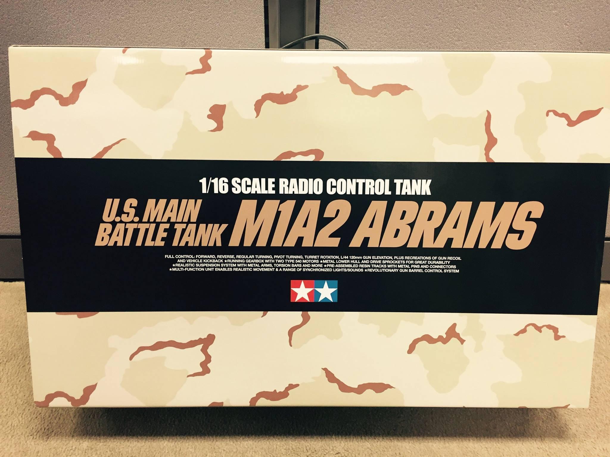 Tamiya 56041 1 16 Rc U S Main Battle Tank M1a2 Abrams Full Option Kit 2 Tamiyablog