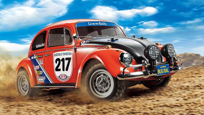 First photo of Tamiya 58650 Volkswagen Beetle Rally MF-01X