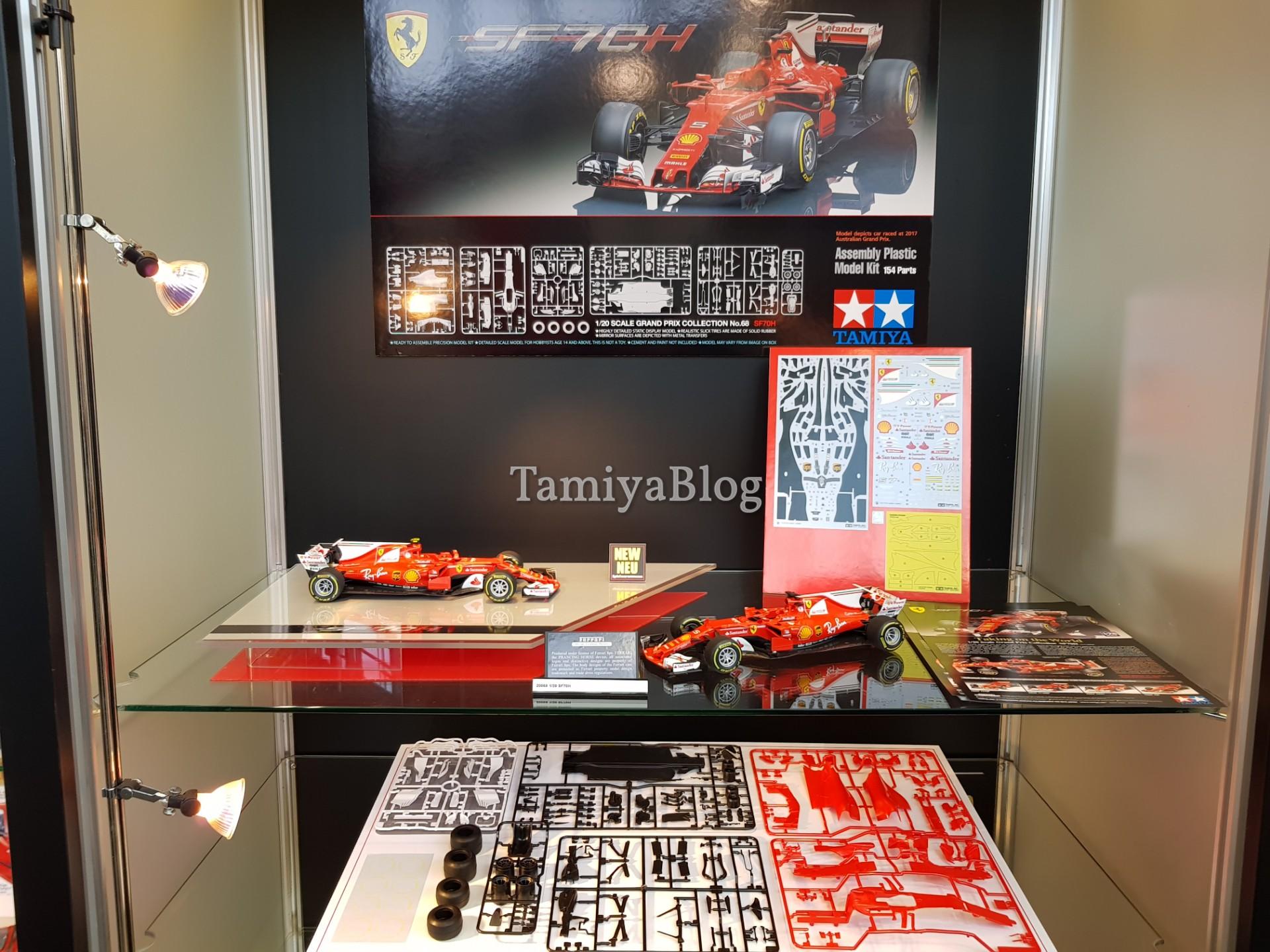 Tamiya 20068 1/20 FERRARI SF70H @ Nuremberg Toy Fair 2018