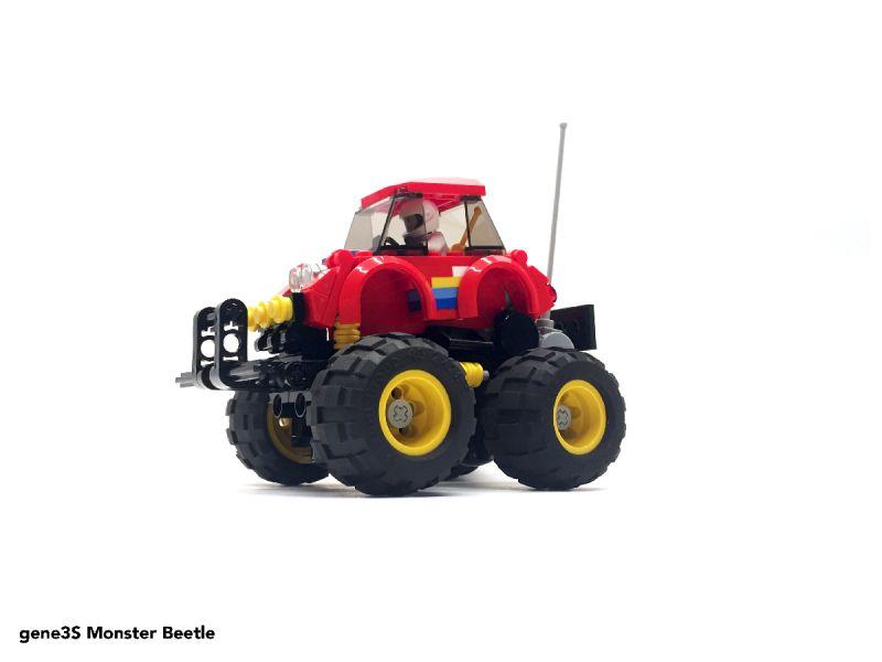 Classic Tamiya Rc Cars Recreated With Lego 1 Tamiyablog