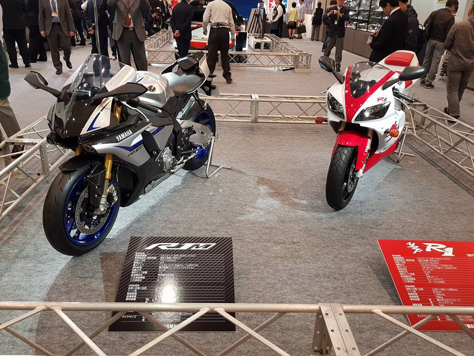 Tamiya 14133 1/12 Yamaha YZF-R1M photos from the 57th Shizuoka Hobby Show  2018