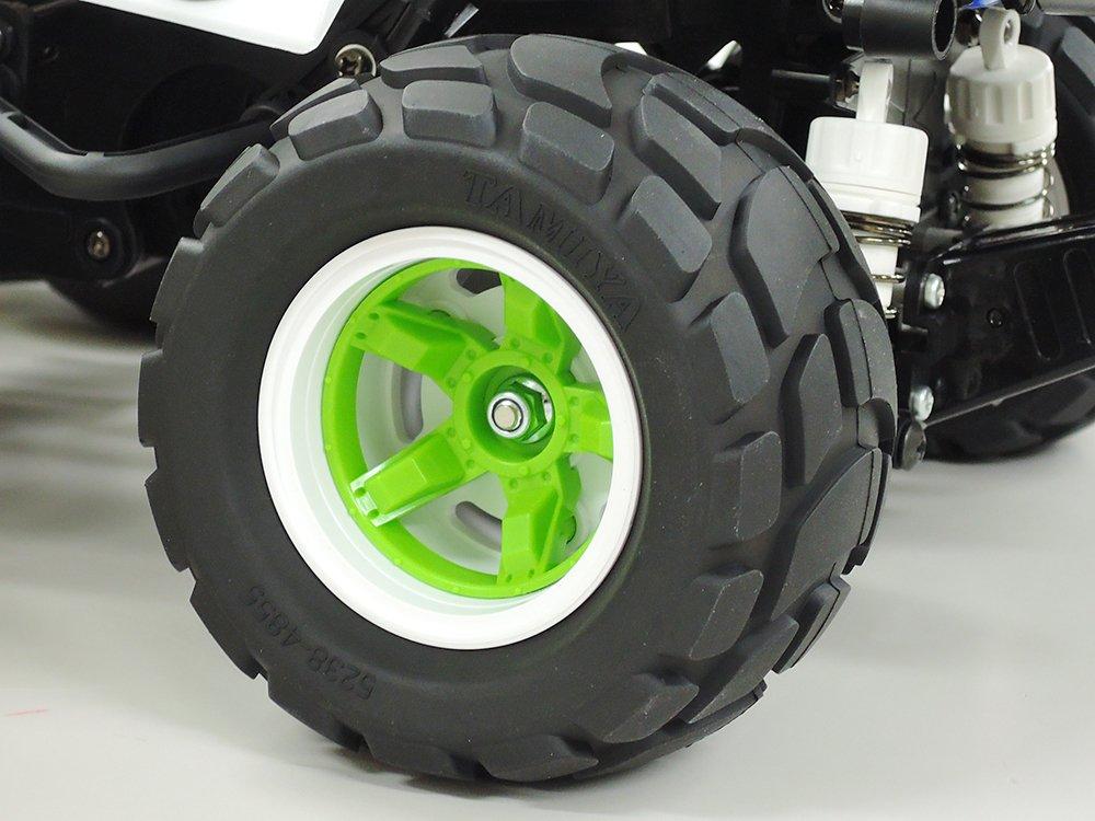 The New Tires And Wheels Of Tamiya 58662 Comical