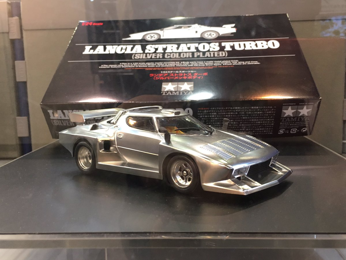 Video Of Tamiya 1 24 Lancia Stratos Turbo Silver Color Plated