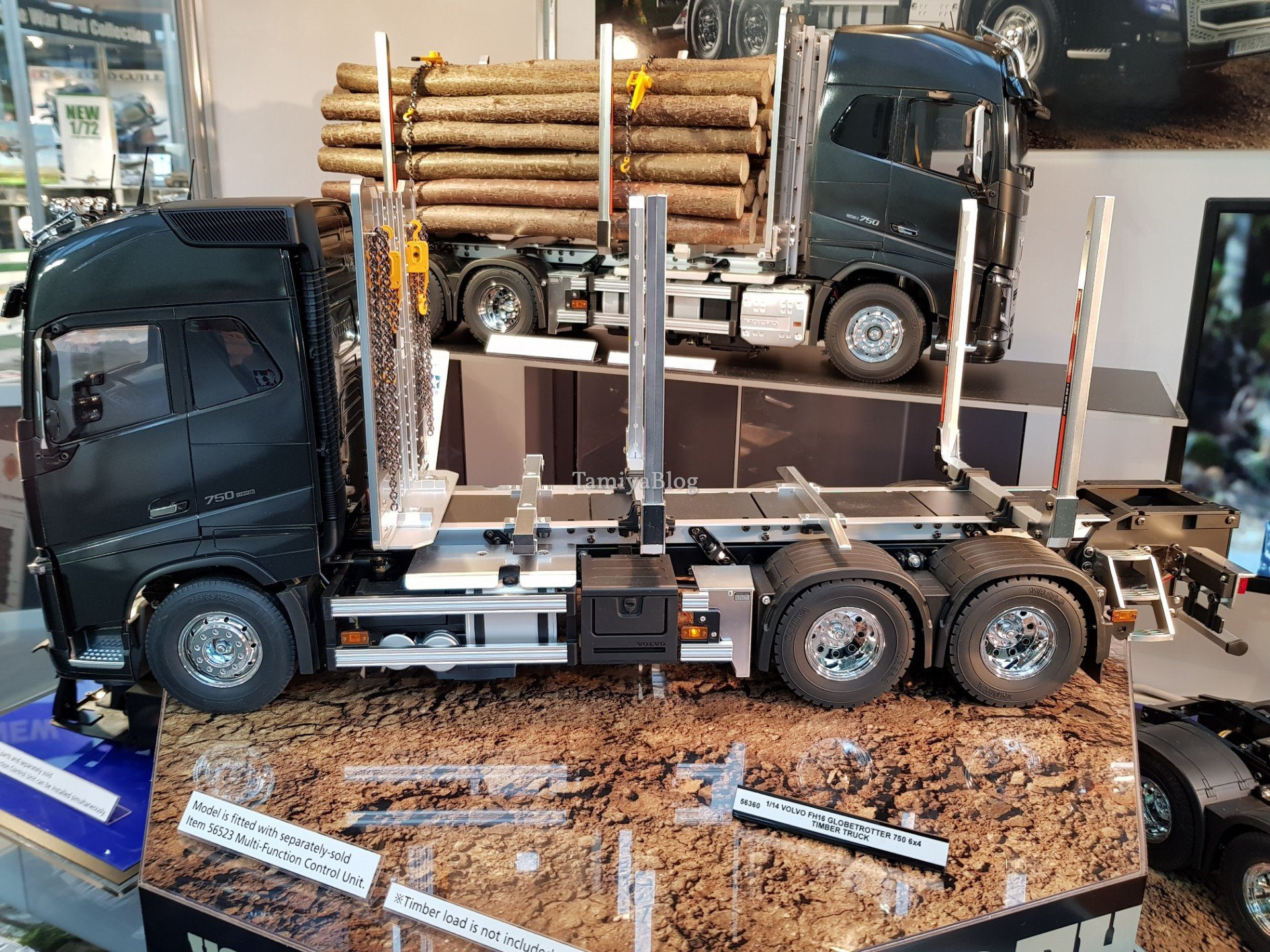 Nuevo camion de TAMIYA Volvo FH16 Globetrotter 750 6x4 Timber 20190130_100339_tamiyablognuremberg8054979462260435796