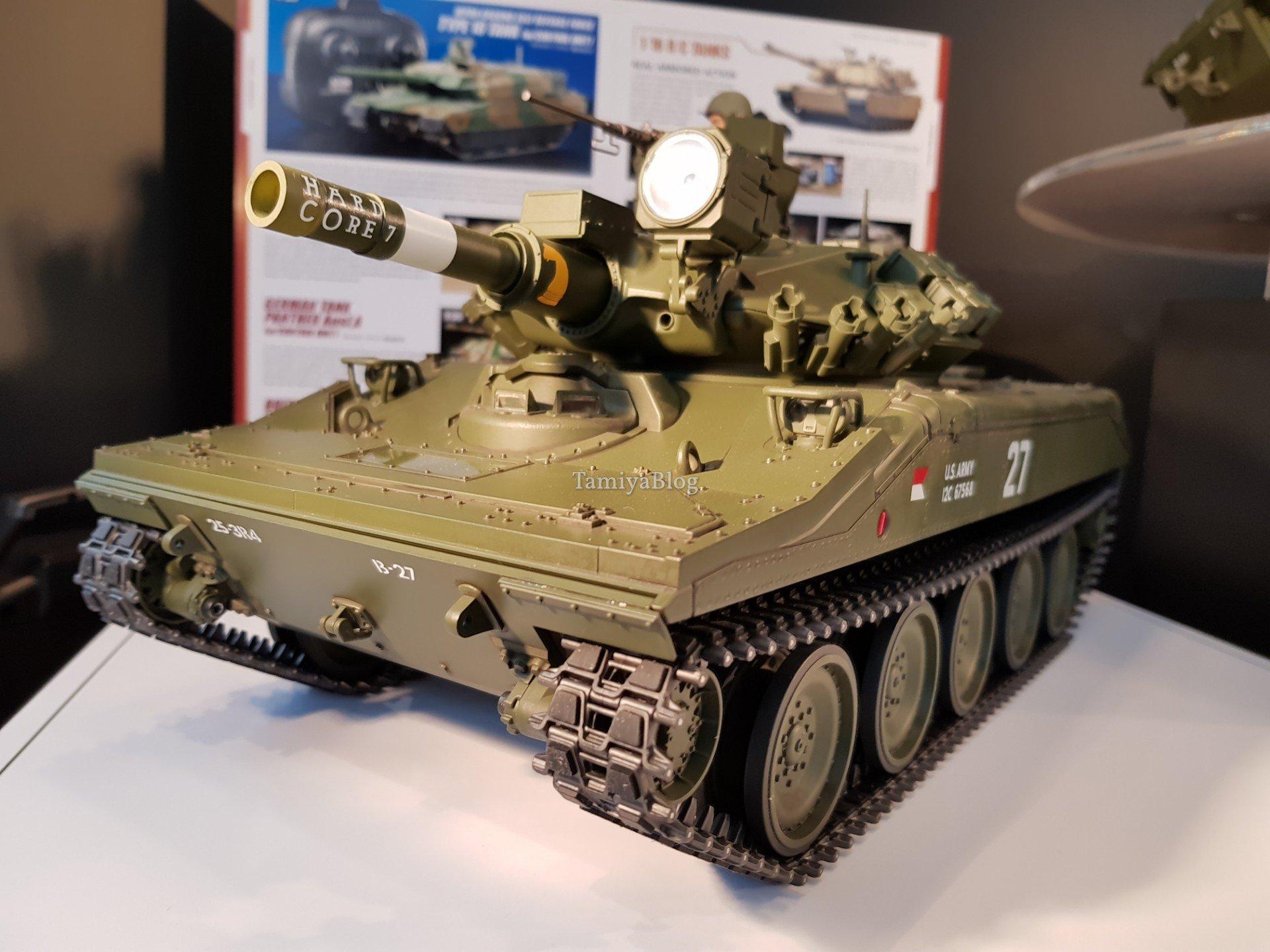 Tamiya 56042 U S Airborne Tank M551 Sheridan Full Option