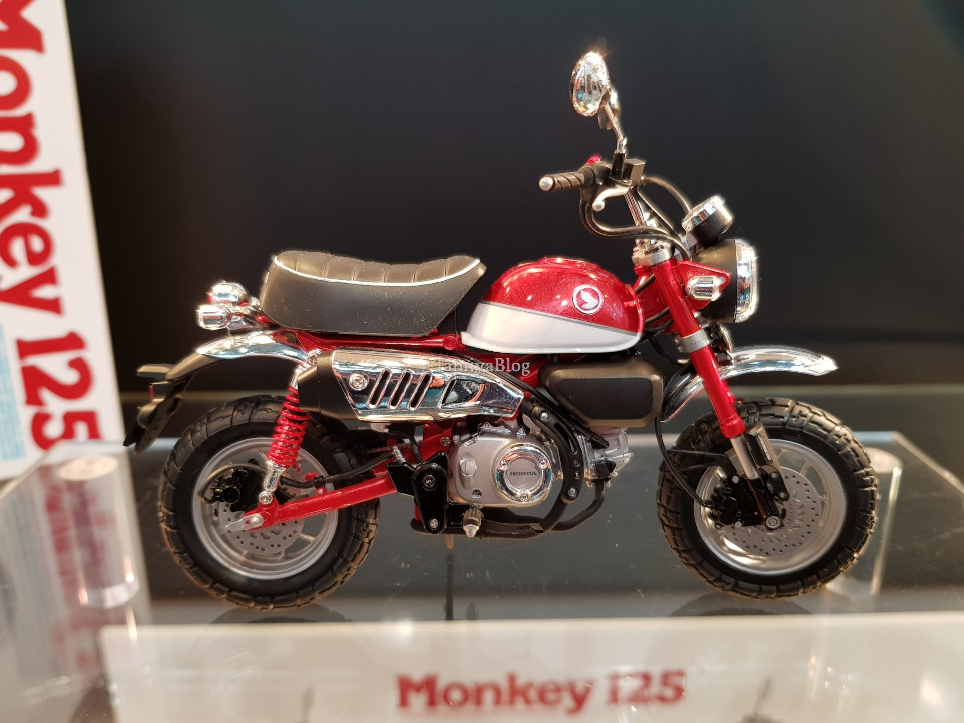 tamiya 14134 honda monkey 125 nuremberg toy fair 2019. Black Bedroom Furniture Sets. Home Design Ideas