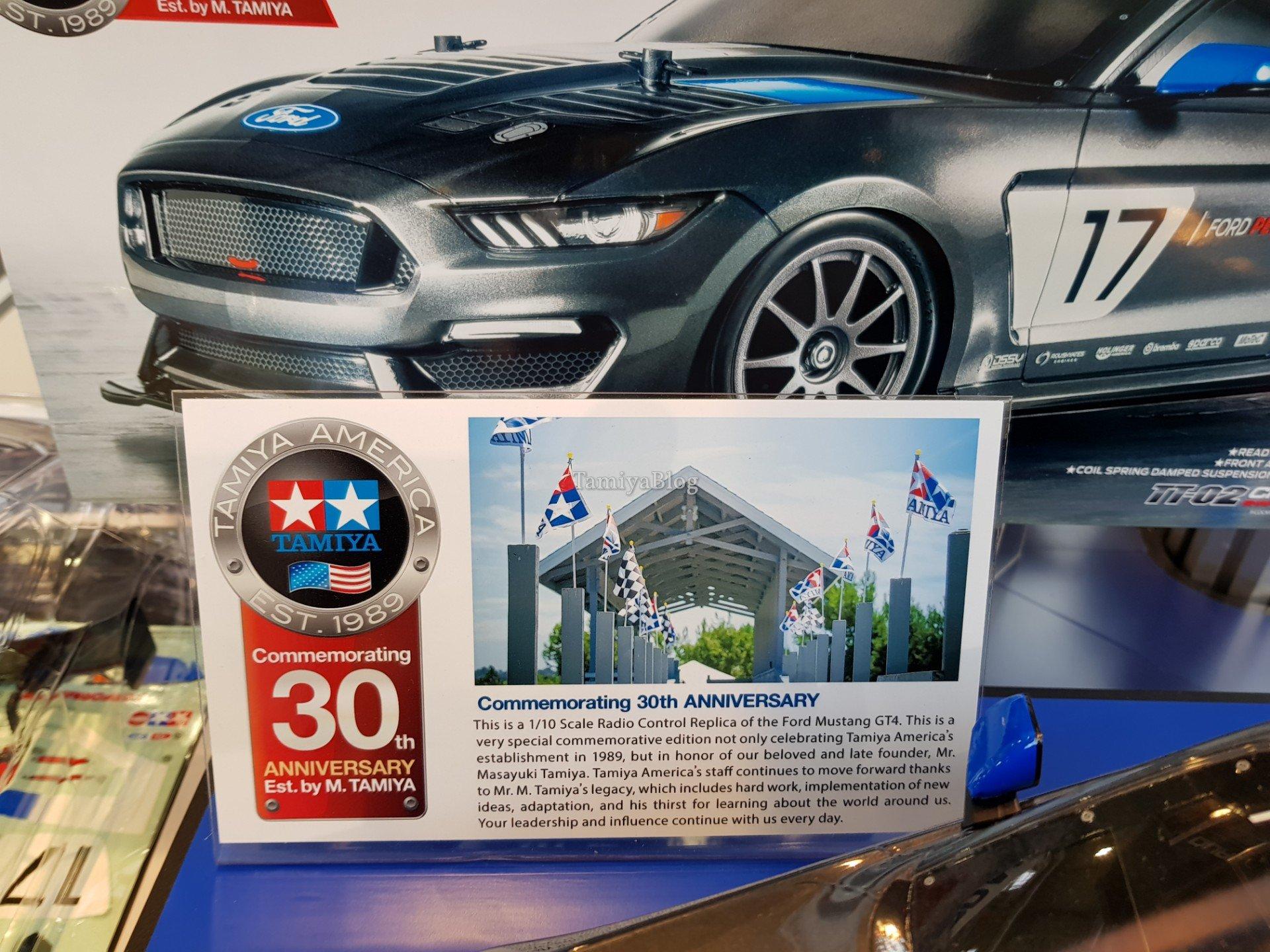 Tamiya 58664 Ford Mustang GT4 @ Nuremberg Toy Fair 2019 - TamiyaBlog