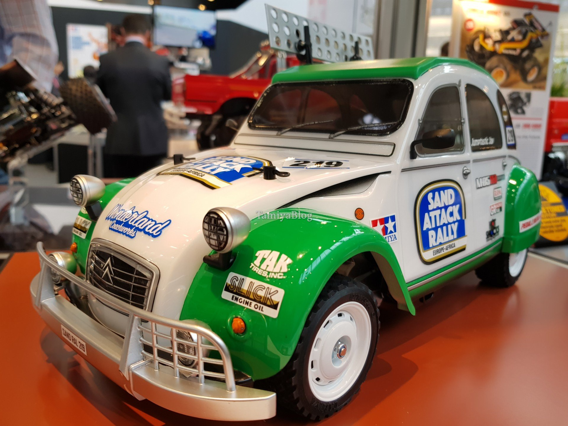 tamiya 58670 citroen 2cv rally   nuremberg toy fair 2019