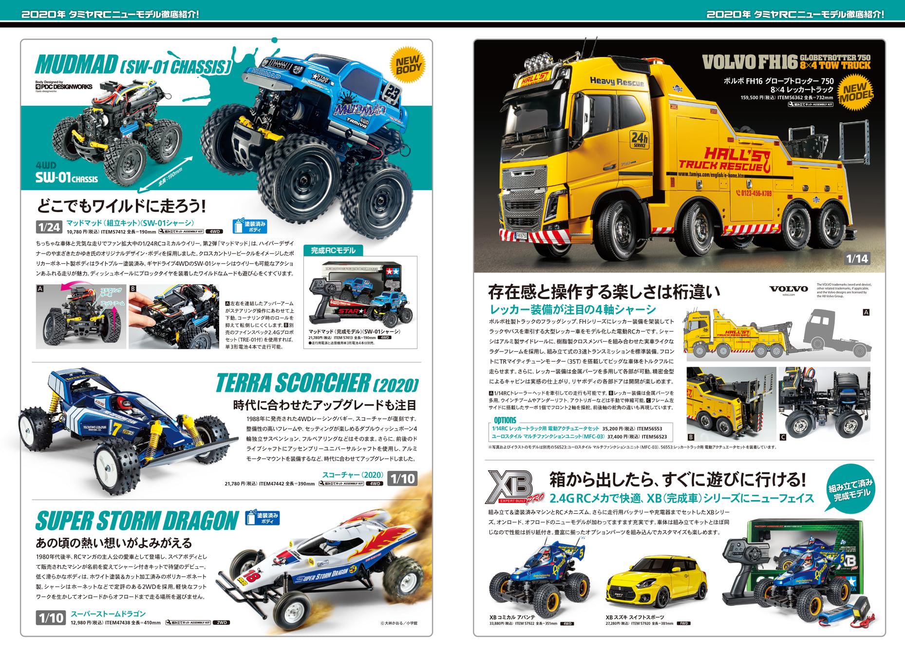 Tamiya Rc Models New Product Catalogue 2020 Tamiyablog
