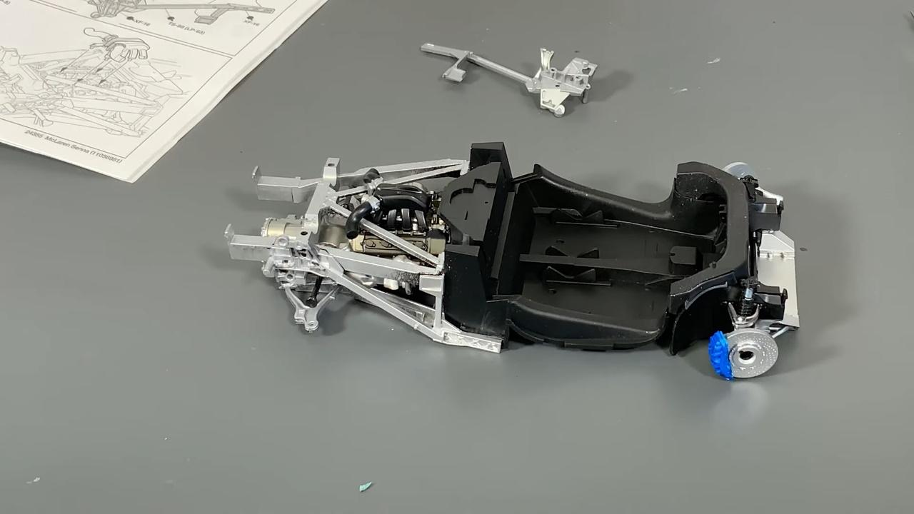 Tamiya 24355 1/24 McLaren Senna complete build video