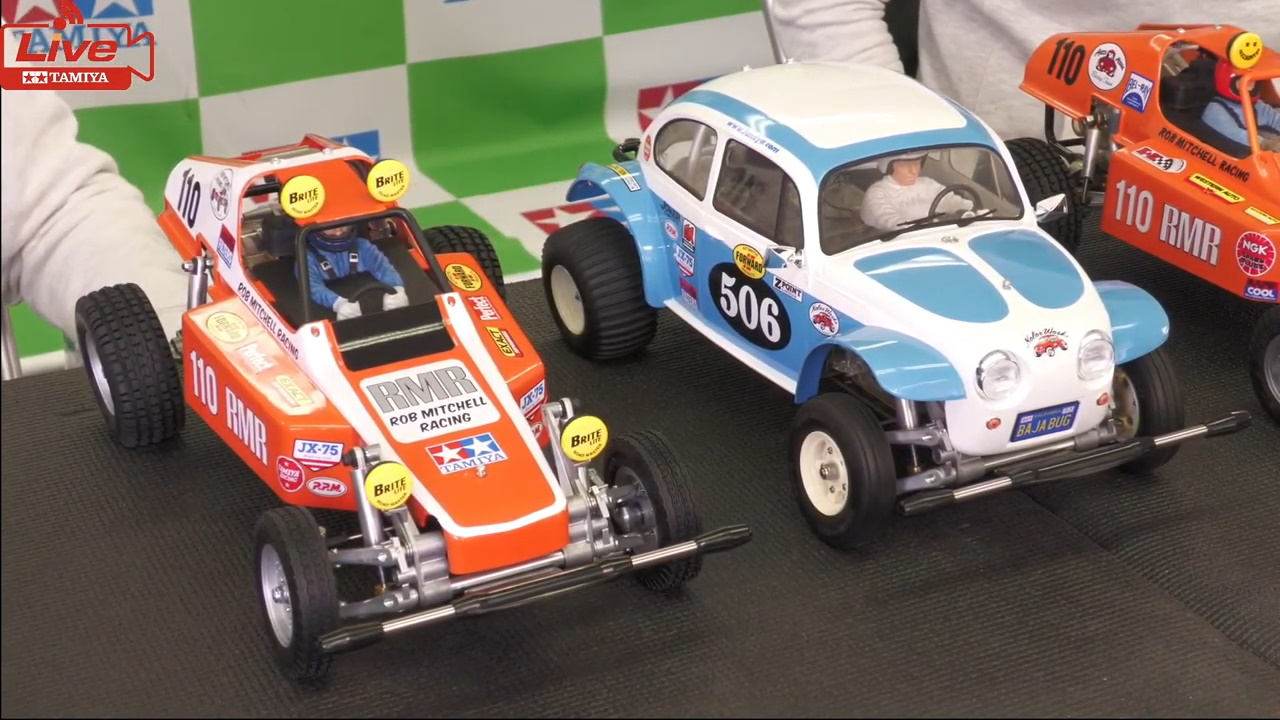 Tamiya RC Live – RC event concours d'Elegance winner machine introduction and Tamiya RC history part 2
