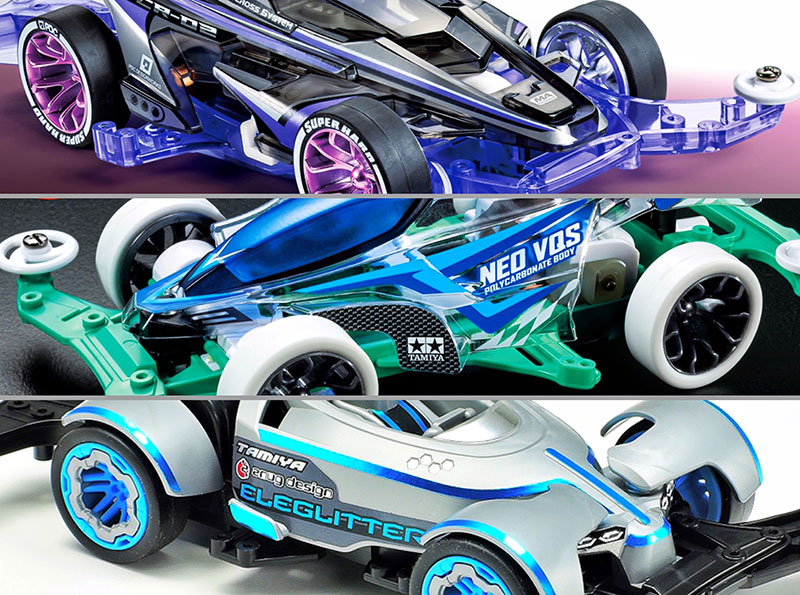 """Tamiya Mini 4WD event venue limited products sold at """"Tobu Online Shopping"""""""